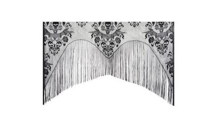 Lace Damask Curtain Halloween Decoration 65f446e0-6ef9-482d-aa1c-96e3af5f866f