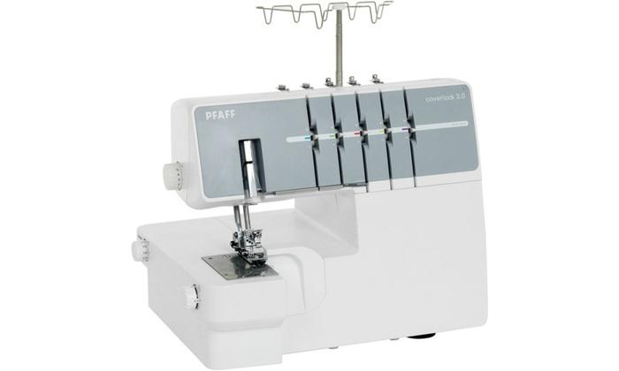 Coverlock 3 0 Cover Hem Overlocker Sewing Machine Refurbished Groupon