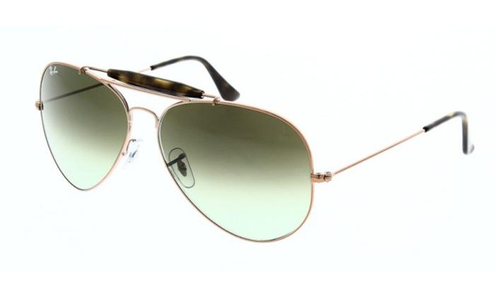 7473d08453 Ray-Ban OUTDOORSMAN II Bronze-Copper Sunglasses RB3029-9002A6-62 ...