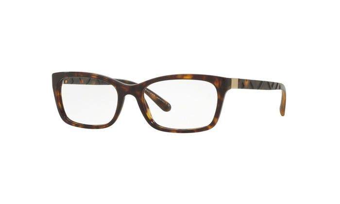 Burberry Eyeglasses BE2220 3002 52 Havana Frame / Clear Lenses | Groupon