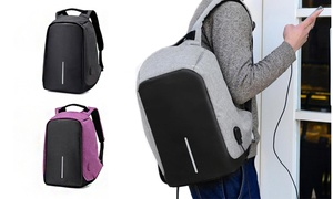 Anti-Theft Multi-Function Laptop Backpack with USB Charging Port
