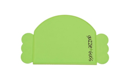 Guzzie And Guss GG205GRN Silicone Placemat - Green fee56c6a-955b-4c67-a601-46f83521bc1b