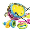 5Pcs/set Musical Instruments Playing Set  Sticks Educate Toys