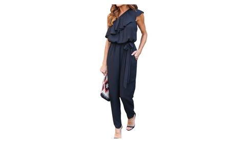 Women's Fashion Long Jumpsuits