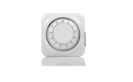 12 hour mechanical countdown Grounded timer - 3 Prong outlet photo