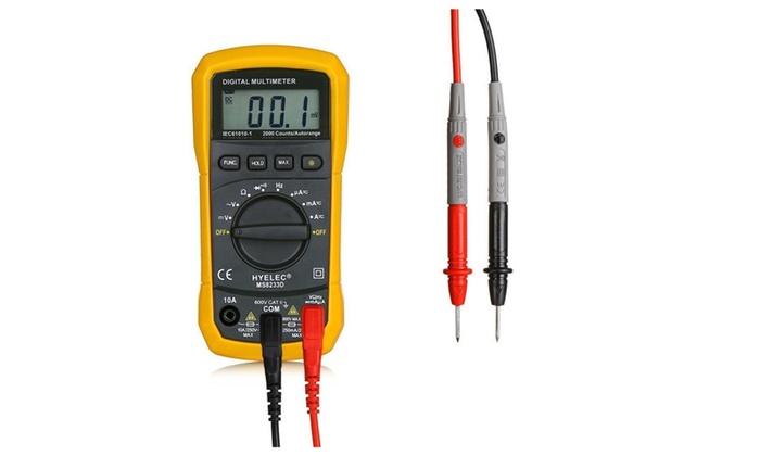 Crenova Digital Electronic Measuring AC Voltage Detector Multimeter