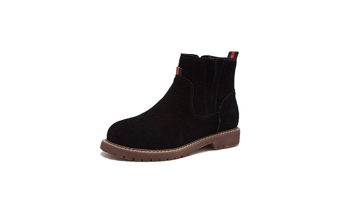 Sangreen Fall Winter Polish Short Ankle Boots for Women