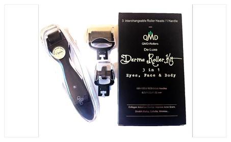 QMD derma roller kit 0.5+1.0+1.0mm micro needles. Eyes, face & body 8efabc89-0fad-4a78-83c5-ef54404d6a6a
