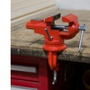 2.25 Inch Jaw Steel Universal 360 Degree Swivel Table Top Vise by Stalwart