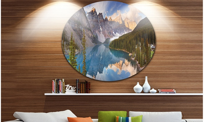 Up To 23% Off on Moraine Lake in Banff Park Ca... | Groupon Goods