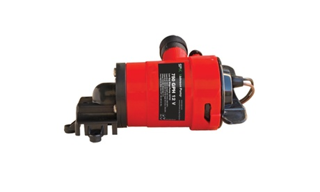 JOHNSON PUMPS 33703 Low Boy Bilge Pump, 750GPH, 12V photo