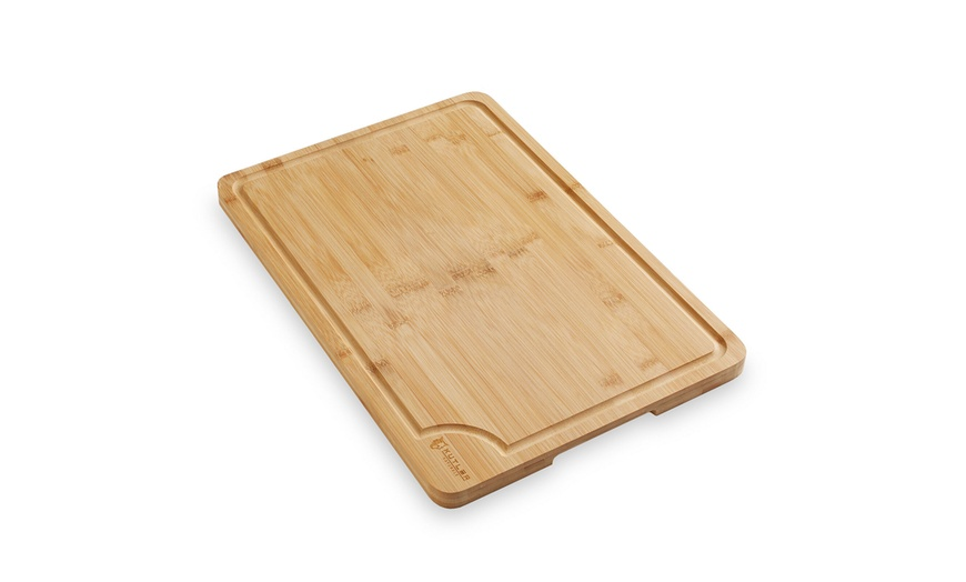 Up To 65 Off On 18 X12 Bamboo Cutting Board Groupon Goods