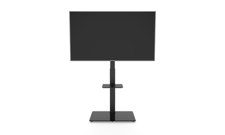 Large TV Floor Stand Mount with 35 degree Swivel for 37in-70in TVs