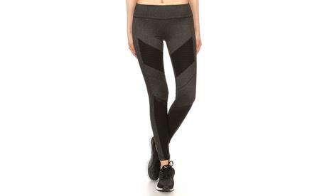 Mesh Inset Leggings Yoga Pants b42df769-ff23-4c3d-81d5-695ac8a5caaa
