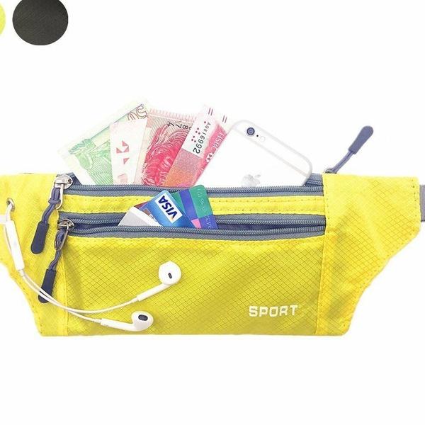 Running Belt Bum Waist Pouch Pack Camping Sport Hiking Water Bottle Holder