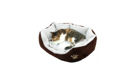 Bed Fleece Warm House Kennel Plush Animals Nest Puppy Cat Cute Soft a1b043b3-a97f-48df-b983-a5705c749b7c