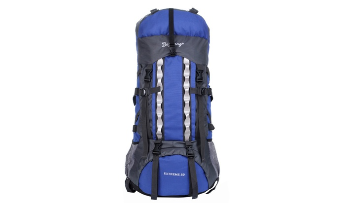 7769b2c7e130 Mountaintop 75L-80L Internal Frame Hiking Backpack with Rain Cover ...