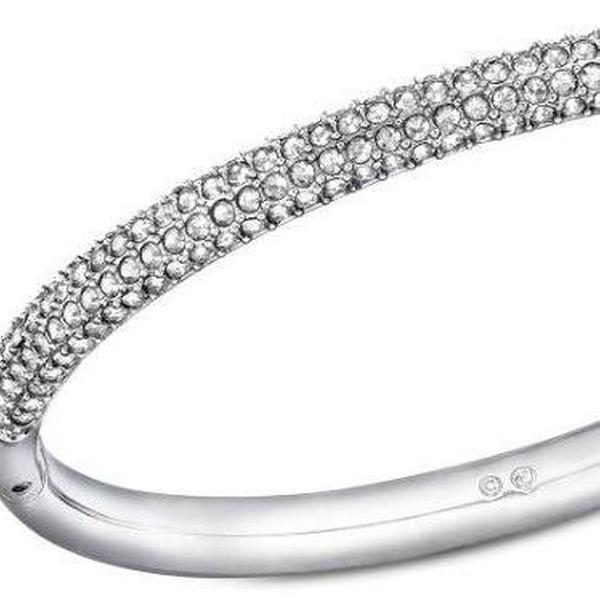 9d7d7201d Swarovski Stone Mini Crystal Bangle - 5032846 | Groupon