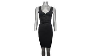 Black Evening Dress Junior Cut