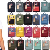 Deals on Fjallraven Kanken Medium & Mini Classic Unisex Daily Backpack
