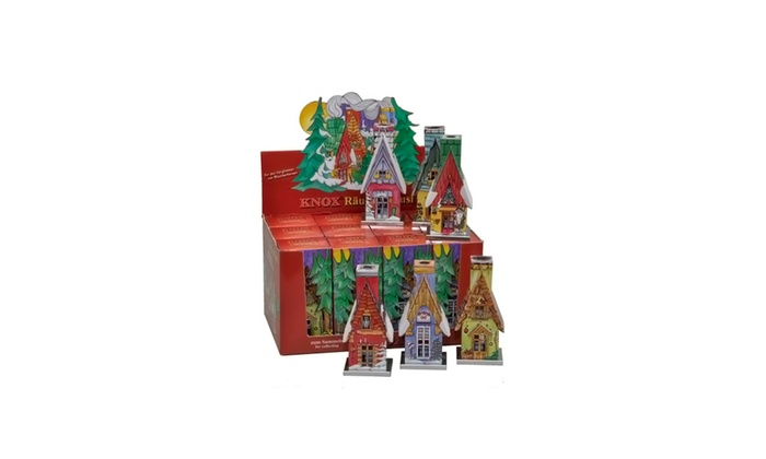 Alexander Taron Knox Metal Incense Assorted House - 12 pieces