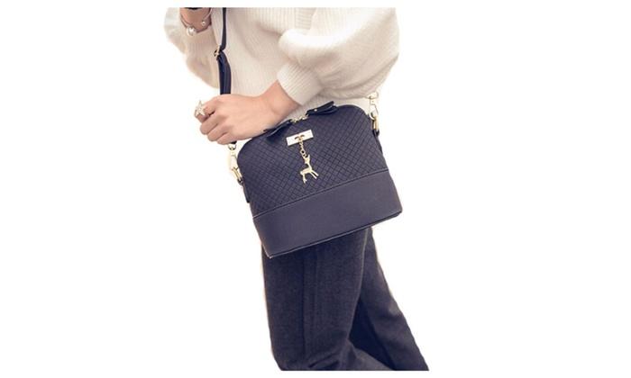 Women Mini Fashion Bag With Toy Shell Shape Bag Lady Shoulder Bags