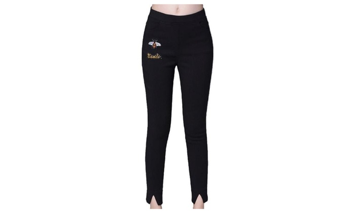 Women's Breathable Casual Solid Simple Trousers