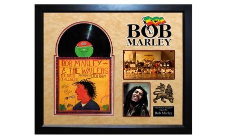 """Bob Marley """"The Birth of a Legend"""" Signed Album d566cfc4-cf65-4382-99d2-3d8d3dc2a772"""