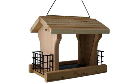 Woodlink NARANCH3 Audubon Ranch Bird Feeder with Suet, Large, 5 lb (Goods For The Home Patio & Garden Bird Feeders & Food) photo