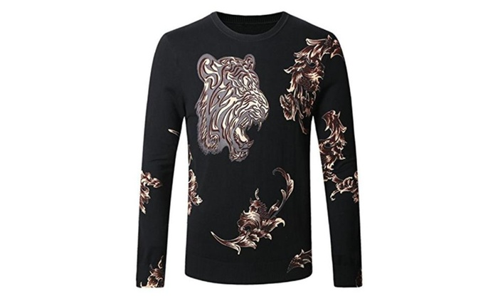 Modern Sweater Fashion Casual Designer Brand Men Hip Hop Pullovers