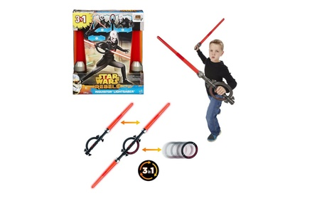 Star Wars Rebels Inquisitor Lightsaber Red Animated Series Force Disc 84e059d3-0d14-48c7-9ca9-5ca6a10cced9