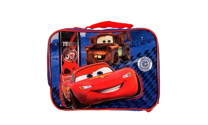 Cars  Backpack And Lunchbox