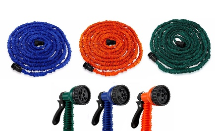 Expanding Garden Water Hose With Nozzle
