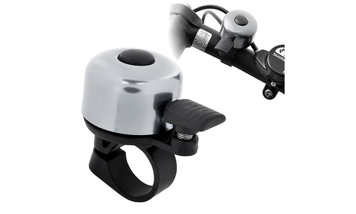 Insten Silver New Mini Bicycle Cycling MTB Handlebar Bell Ring Horn