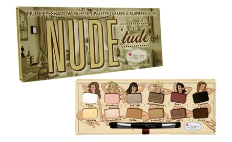 theBalm Women's Nude - Eyeshadow Palette-Nude Tude b94d7a65-0ba0-4255-8bf9-f50cbd556844