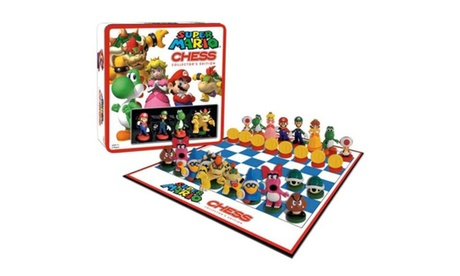 Nintendo Board Game Super Mario Chess With Mini Action Figure Toy ddf79682-9b40-4506-8079-9445f8b64d00
