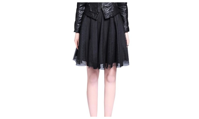 Women's Side Zipper Solid Fashion Casual Skirts