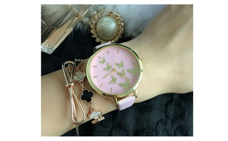 Happy Moments Butterfly Wrist Watches bbeeb729-d471-4c08-badb-37b2356525d5