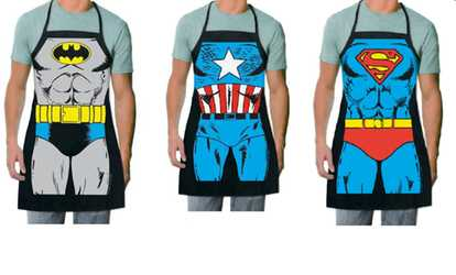 Shop Groupon Superhero Batman, Captain America, Or Superman Kitchen Apron
