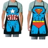 Superhero Batman, Captain America, or Superman Kitchen Apron