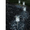 Pure Garden Solar Powered LED Path Lights - Set of 4