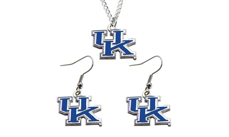Kentucky Wildcats Necklace and Dangle Earring Charm Set d0163a43-d106-4bbd-bd6b-03b228021ca9