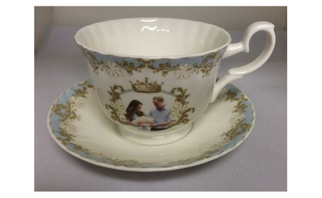 Roy Kirkham Breakfast Cup/saucer - Prince George Set Of 2 3b1b7864-ac66-4786-aac0-262052600b86