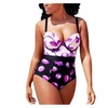 Women's Beach Full Rear Coverage Printing One-Pieces