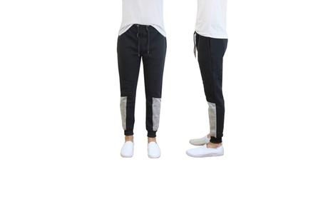 Mens Fleece Jogger Pants with Contrast Trim 7855ed99-11fa-48af-8770-53e048955777