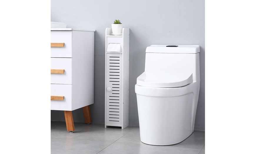 Bathroom Storage Corner Floor, Narrow Cabinet Bathroom