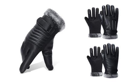 Winter Men'S Outdoor Sports Padded Waterproof Touch Screen Warm Gloves f5fcc99f-fcfa-44c3-858e-b5328439ae14