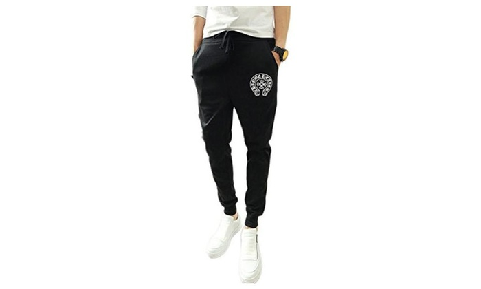 JIES MENS Chic Totem Pants Sports Jogging Sweat Trousers