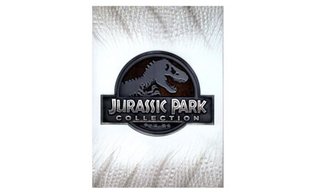 Jurassic Park Collection (DVD, 2015, 6-Disc Set) Includes All 4 Movies