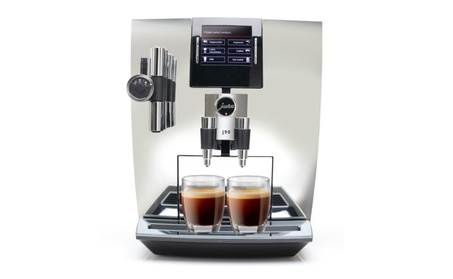 Jura Impressa J90 Super Fully Automatic Espresso Machine - Chrome 2cb282a3-9950-44ec-a958-c89af3463c6a